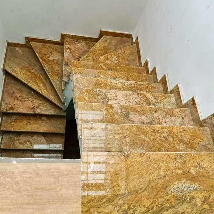 đá hoa cương cầu thang granite